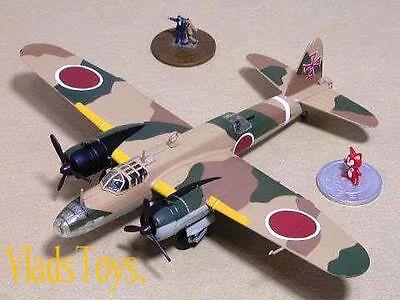 F-Toys 1:144 1a Nakajima Ki-49 Helen 74th Sentai Twin Engine #3 FTC141