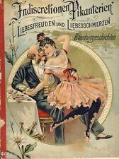 Austern-Bibliothek Feodor Flott Indiscretionen Pikante Skizzen 1897