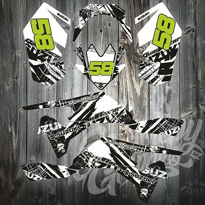 SUZUKI LT-R 450 LTR450 CREATORX GRAPHICS KIT DECALS BTG
