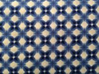 Michael Miller Kota Blue/white 100% Cotton, 45 1 Yard Quilt,crafts,apparel