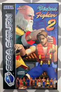 Virtua Fighter 2 For Sega Saturn