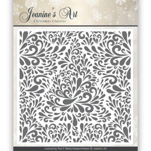 Jeanine/'s Art-Árbol de Navidad Classics Carpeta de grabación en relieve 12.5 cm X 12.5 Cm