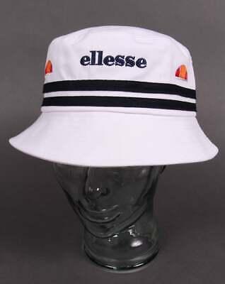 Ellesse Bucket Hat - White & Navy - Bnwt GroßEr Ausverkauf