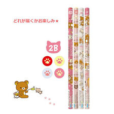 San-X Rilakkuma Relaxed Cat Theme 2B Pencil 4pc set (PN82901) 5C111