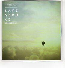 (HF597) Alfred Hall, Safe & Sound - 2016 DJ CD