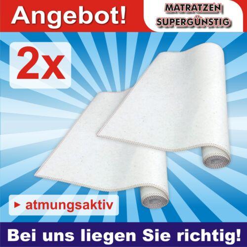 """Matratzenschoner /""""Star/"""" 90x190cm Matratzenunterlage Set 2x Matratzen-Schoner"""
