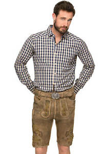 Stockerpoint-Leather-Trousers-with-belt-hemp-Yellow