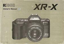 Ricoh XRX Original Instruction Book