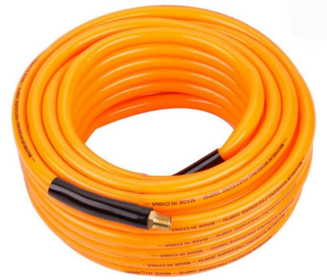 Orange Kobalt SGY-AIR63-3//8-in x 50-ft Blue PVC Air Hose