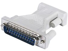 Serial to Parallel Adapter DB9F to DB25M Adaptor Converter