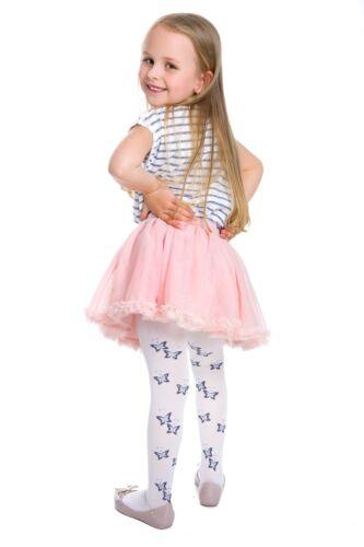 Filles Colorful Collants Joli Modèle Mince Doux et Confortable Enfant Âge 1-12 6006