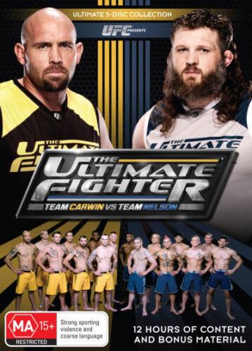 1 of 1 - UFC - ULTIMATE FIGHTER - Team Carwin Vs Team Nelson: Season 16 DVD NEW 5-DISC R4