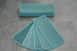 14-Turquoise-Glitter-Carpet-Stair-Treads-Stain-Free-Stair-Case-Sparkle-Pads