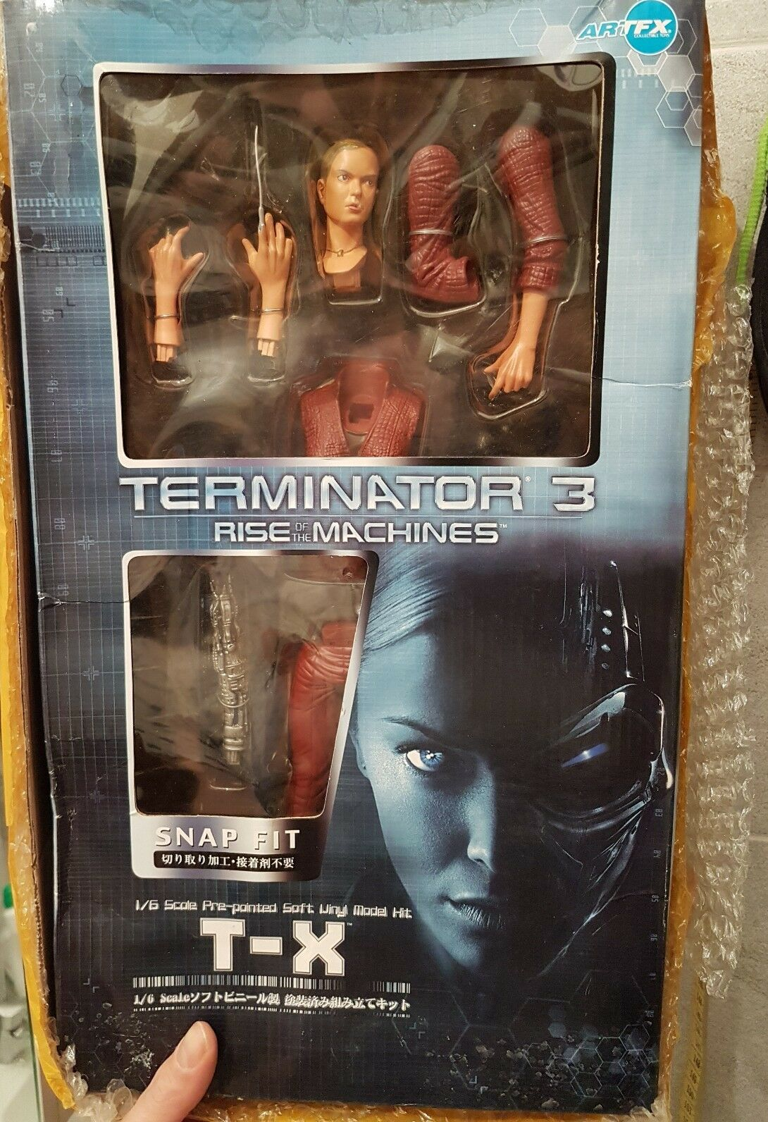 Teminator 3 TERMINATRIX TX-3 ACTION FIGURE DI 31cm nuova nuova nuova c6af9b