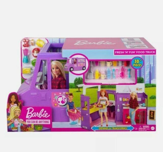 Barbie Career Fresh n Fun Food Truck Playset fresh 'n' fun truck