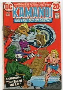 KAMANDI-2-1972-The-Last-Boy-On-Earth-YEAR-OF-THE-RAT-Jack-KIRBY-VF