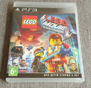 Sony-PLAYSTATION-3-PS3-il-Lego-Film-Videogioco-NUOVO-RUSSO-VER-GIOCO-INGLESE