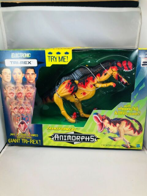 Transformers Animorphs Tri Rex Action Figure