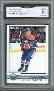 GMA-9-Mint-CONNOR-McDAVID-2005-Upper-Deck-OPC-O-Pee-Chee-GLOSSY-ROOKIE-CARD