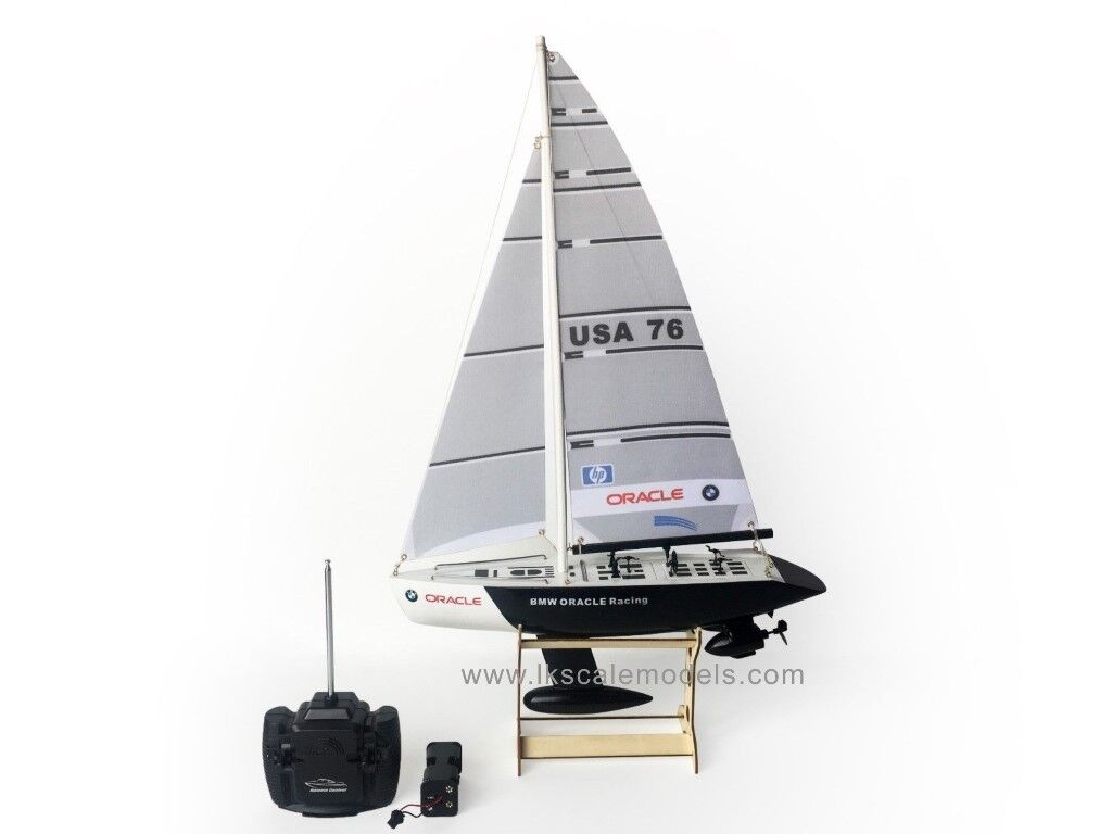 """25"""" RC Remote Remote Remote Control 4 Channels Sailboat 120SH Motor - BMW Oracle ce9210"""