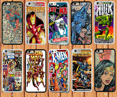 Marvel Superhero - Hulk - Superman for iPhone And Samsung Galaxy Case Cover