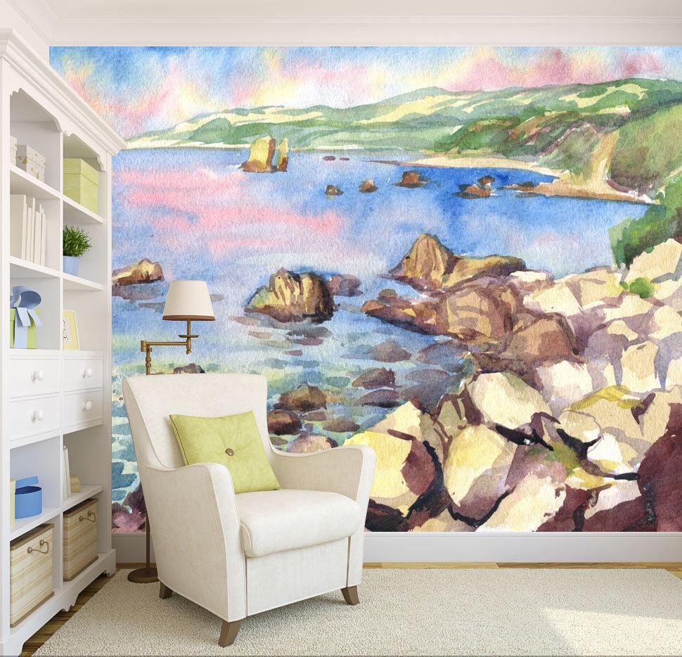 3D Ölgemälde Landschaft 8043 8043 8043 Tapete Wandgemälde Tapeten Bild Familie DE Lemon | Bekannt für seine gute Qualität  | Louis, ausführlich  |  7101c8