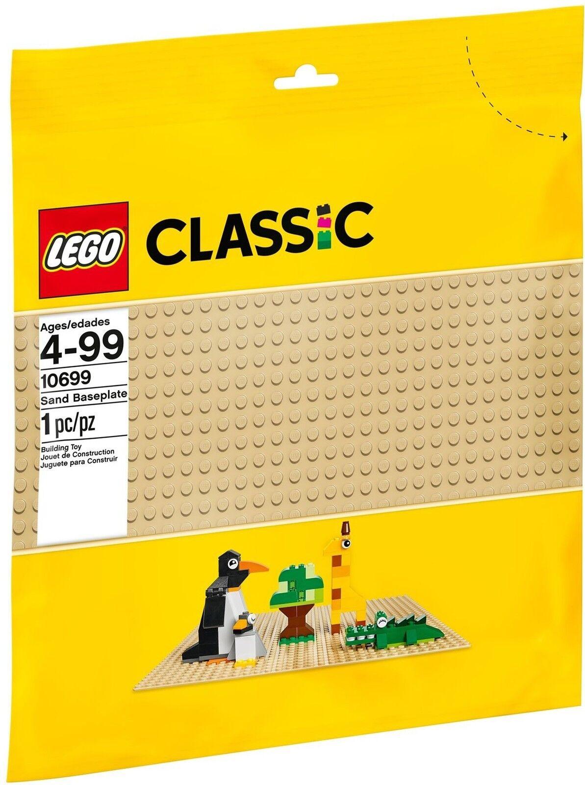 LEGO ® CLASSIC 10699 couleur couleur couleur plaque de base NOUVEAU neuf dans sa boîte _ Sable plaque NEW En parfait état, dans sa boîte scellée Boîte d'origine jamais ouverte 0b5a43