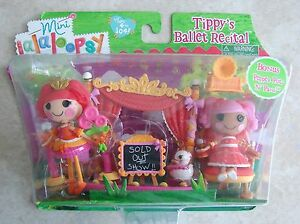 2-Doll-Set-Tippys-Ballet-Recital-Bonus-Pepper-Pots-n-Pans-Lalaloopsy-Mini-Dolls