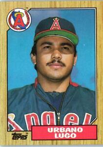 1987 TOPPS Baseball Trading Card of  URBANO LUGO #92