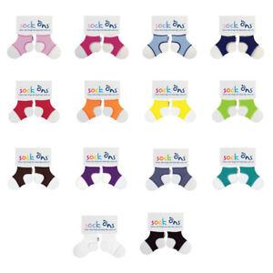 Baby Jungen 3 Packung Sock Ons Keepers Größe 6-12 Monate Wählen Sie Farben