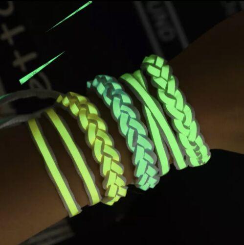 Leuchtende Schnürsenkel Glow in the Dark Nachtleuchtende Flachsenkel Schuhsenkel