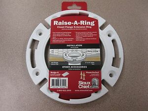 Image Is Loading Sioux Chief Raise A Ring Closet Flange Extension