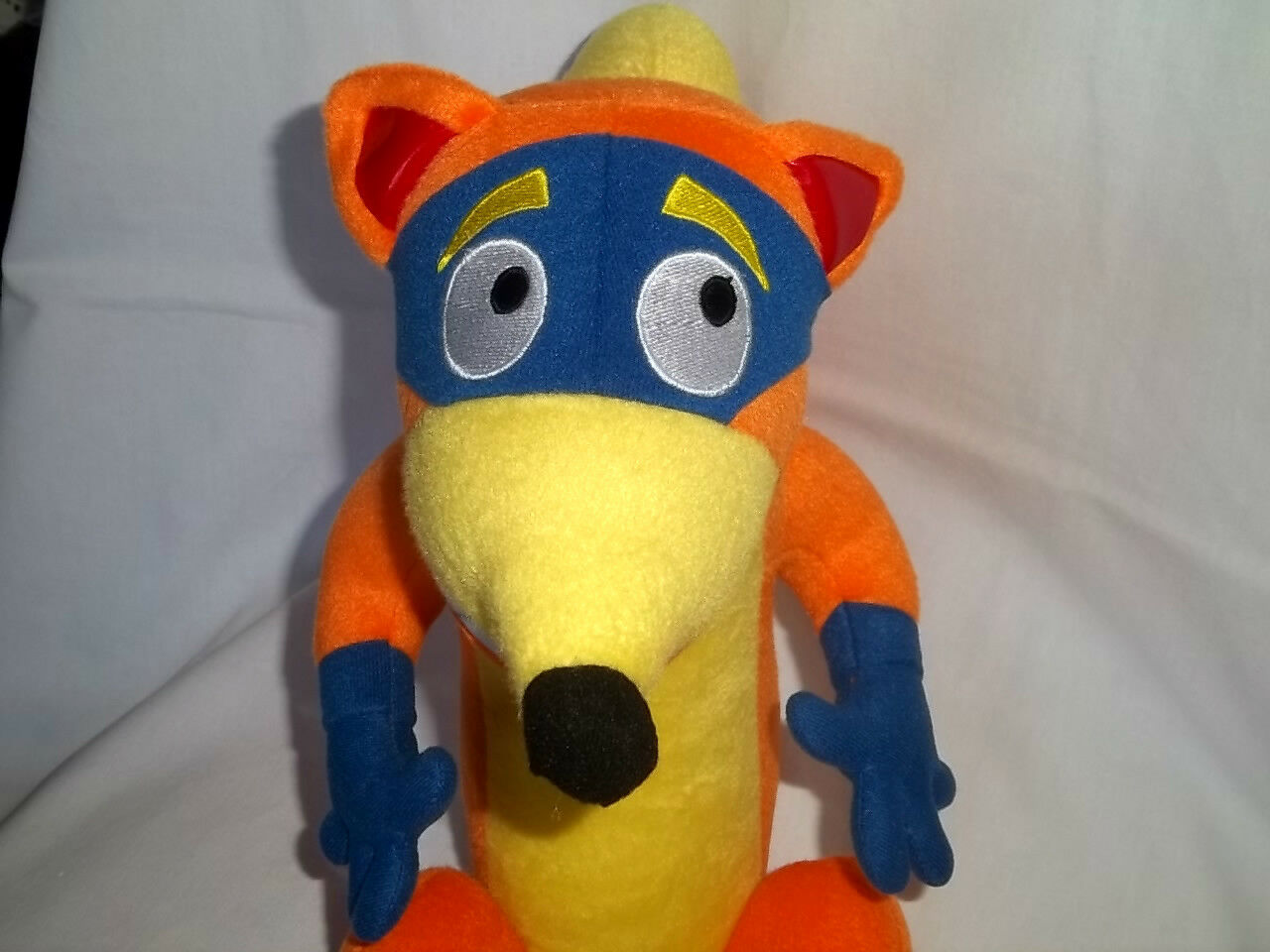 DORA THE EXPLORER EXPLORER EXPLORER 15  Plush SWIPER FOX Large Stuffed Animal Toy Big Mask orange ac9bfa