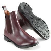 Harry Hall Oxblood Silvio Ladies Jodhpur Boots Size 7 Showing