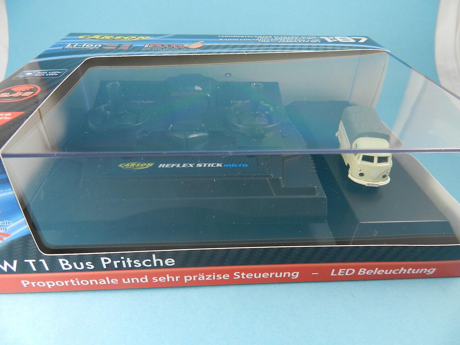 CARSON 500504117 VW T1 PRITSCHE MIT FERNSTEUERUNG  1 87