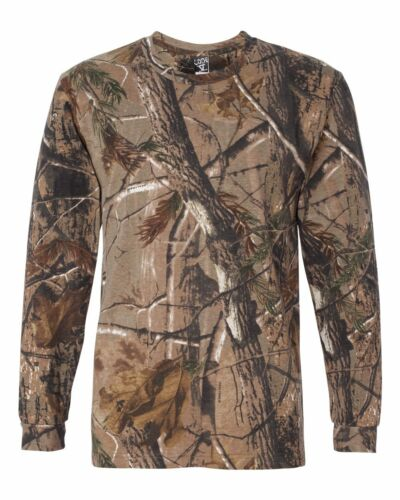Licence Officielle Camouflage aucune impression Camoflage Realtree Chemise à manches longues