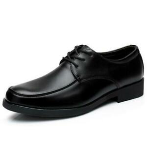 Men-039-s-Classic-Formal-Business-Oxford-Casual-Leather-Shoes-Lace-Up-Dress-Loafers
