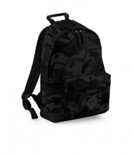 Backpack Bagbase Camo Backpack Rucksack School Bag Shoulder Bag BG175