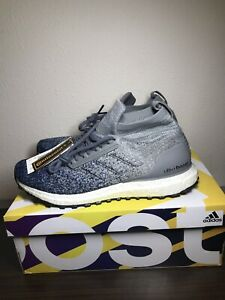adidas-Ultra-Boost-All-Terrain-Running-Shoes-Grey-Blue-BB6128-Men-s-Size-9-NEW