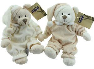 Schlafbaer-Kuschelbaer-Pluesch-Baer-Teddybaer-Teddy-Plueschtier-Stofftier-Kuscheltier