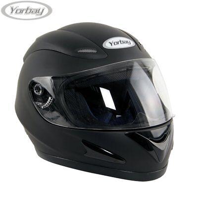 Yorbay Motorradhelm Schutz Helm Integralhelm Rollerhelm Sturzhelm XS S M L XL