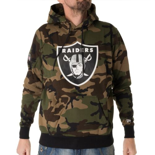 Capuche Camouflage New Homme Raiders Era 33420 Pull forêt À Woodland Oakland qwzYq4