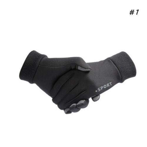 Mens Winter Warm Gloves Phone Screen Full Finger Sport Running Driving Gloves