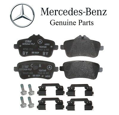 For Mercedes R172 SLK X156 GLA C117 CLA AMG Pair Set of 2 Rear Brake Disc Rotors
