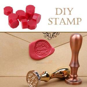 100PCS Sealing Wax Beads Retro Seal Stamp Wedding Envelope Invitation Card Decor