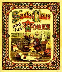 Details About Santa Claus Works Vinyl Sticker Decal Christmas Saint Nicholas Yuletide Yeti Cup