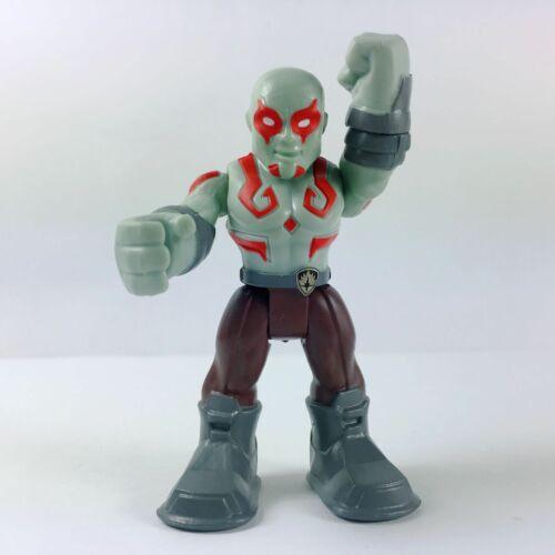 2x Hasbro Playskool Marvel Super Hero Adventures Star Lord /& Drax Action Figure