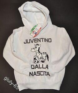 Dettagli su FELPA JUVENTUS bambino 5/6 anni JUVENTINO DALLA NASCITA maglia Juve idea regalo