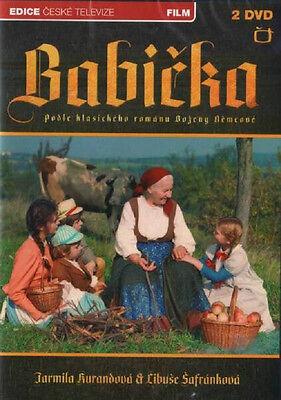 Babicka Set 2 Czech DVD 1971  Antonin Moskalyk,Jarmila Kurandova R.ALL