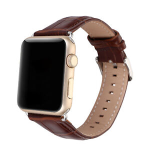 Classic-Crocodile-Pattern-Leather-Brand-Strap-For-Apple-watch-Iwatch-1-2-3-Hot-G